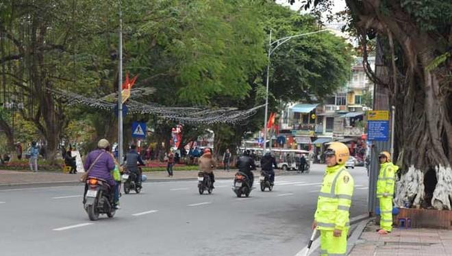 Từ ngày 15/2, Thông tư 01 của Bộ Công an quy định nhiệm vụ, quyền hạn của cảnh sát giao thông chính thức có hiệu lực (Ảnh minh họa)