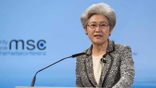 Chủ nhiệm Uỷ ban Đối ngoại Quốc hội, nguyên Thứ trưởng Ngoại giao Trung Quốc Phó Oánh. Ảnh: EPA