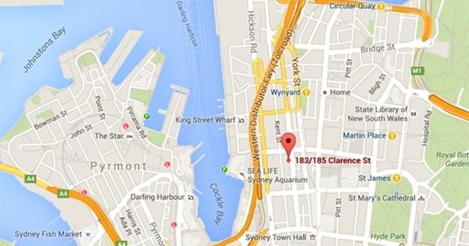 Vị trí khu đất được Tập đoàn Vingroup mua lại. ảnh: Google Maps