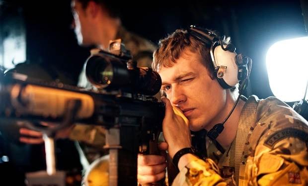 Một lính bắn tỉa của Anh (ảnh: Getty)