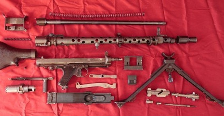 Video súng máy đa chức năng độc đáo và uy lực của phát xít Đức