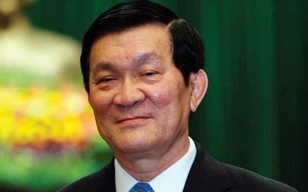 Chủ tịch nước Trương Tấn Sang. Ảnh: S.T.
