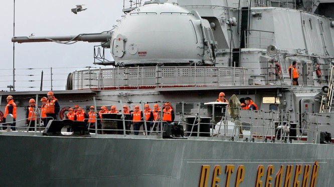 Tuần dương hạm tên lửa hạt nhân hạng nặng Pyotr Velikiy