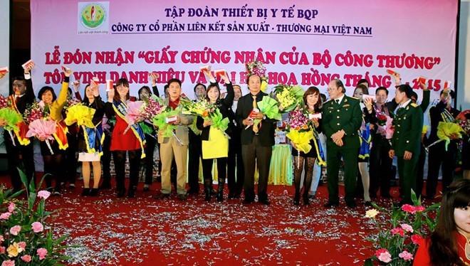 Các buổi lễ của Liên kết Việt đều được tổ chức hoành tráng - Ảnh: lkv.com.vn