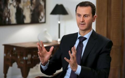 Tổng thống Syria Bashar al-Assad. Ảnh AFP
