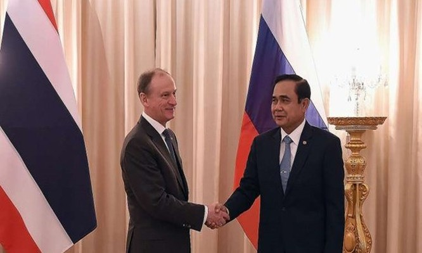 Thái Lan 'bắt cá ba tay' trong quan hệ với Nga-Mỹ-Trung Quốc.