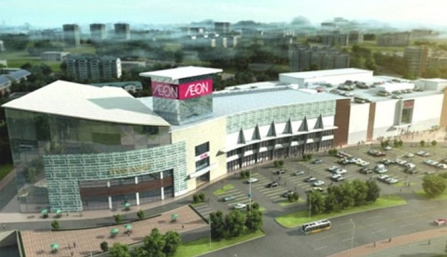 AEON dự định xây siêu thị 200 triệu USD thứ hai tại Hà Nội