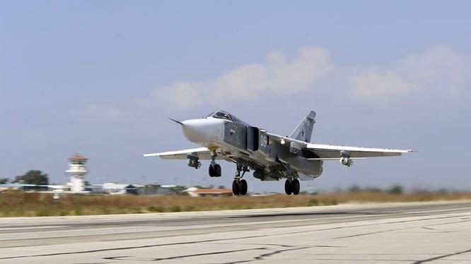 Trung bình mỗi ngày Nga không kích IS 60 lần, Mỹ chỉ 7 lần