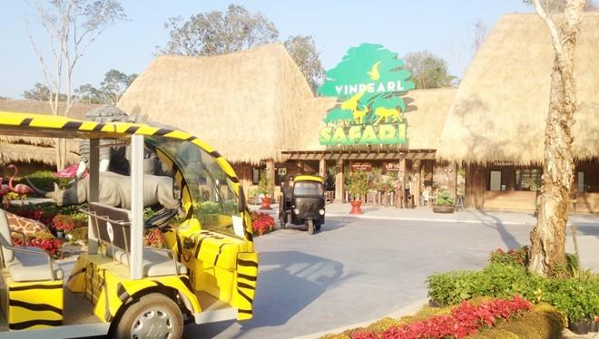 Safari Phú Quốc. Ảnh: Việt Tường.