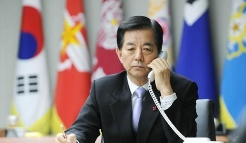 Bộ trưởng Quốc phòng Hàn Quốc Han Min-koo.