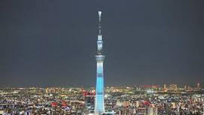 Tháp truyền hình Tokyo Skytree của Nhật Bản hiện đang giữ kỷ lục cao nhất thế giới với chiều cao 634m