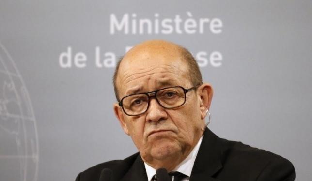 Bộ trưởng Quốc phòng Pháp Jean-Yves Le Drian.