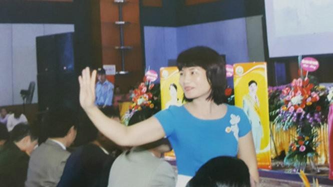 Nguyễn Thị Thủy, phó tổng giám đốc công ty Liên kết Việt trong một sự kiện - Ảnh tư liệu