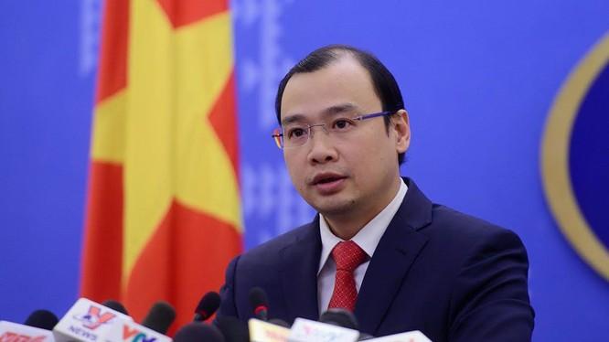 Người phát ngôn Bộ Ngoại giao Việt Nam Lê Hải Bình. Ảnh: Tuấn Mark