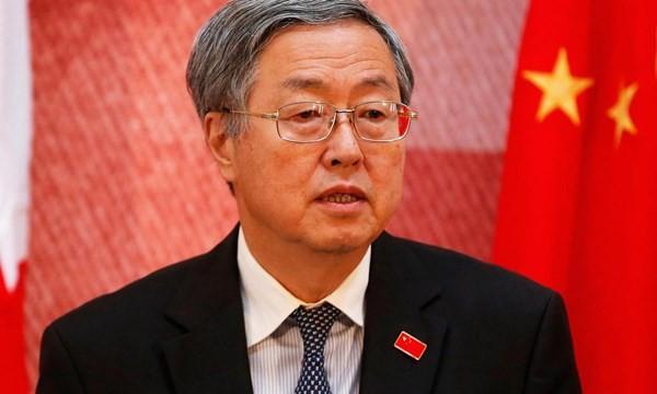 Thống đốc Ngân hàng Trung ương Trung Quốc Chu Tiểu Xuyên.