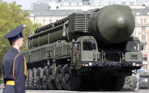 Tên lửa Topol-M của Nga. (Ảnh: RT)