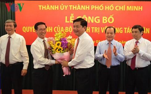 Ông Đinh La Thăng nhậm chức Bí thư Thành ủy TP.HCM ngày 5/2