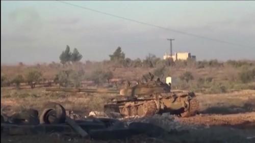 Video Viện trợ nhân đạo tới thị trấn Kinsabba của Syria