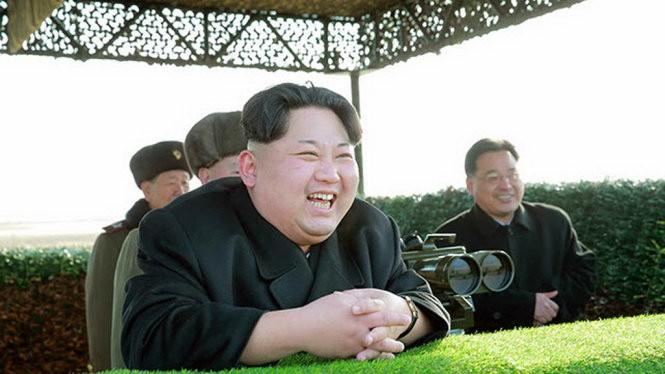 Lãnh đạo Triều Tiên Kim Jong Un - Ảnh: Yonhap
