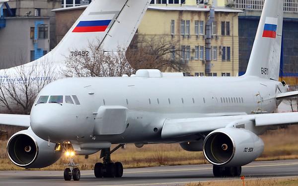 Video từ máy bay trinh sát tối tân Tu-214R Nga mới đưa sang Syria