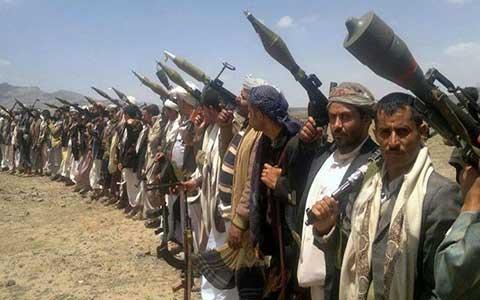 """Video cận cảnh """"pháo phản lực"""" của phiến quân Houthis"""