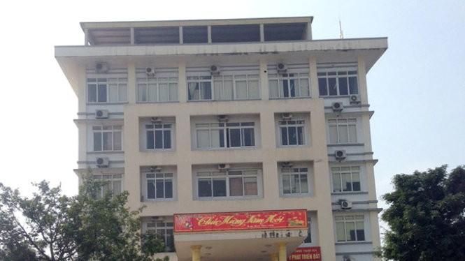 Sở Tài chính tỉnh Thanh Hóa - nơi xảy ra vụ việc - Ảnh: Hà Đồng