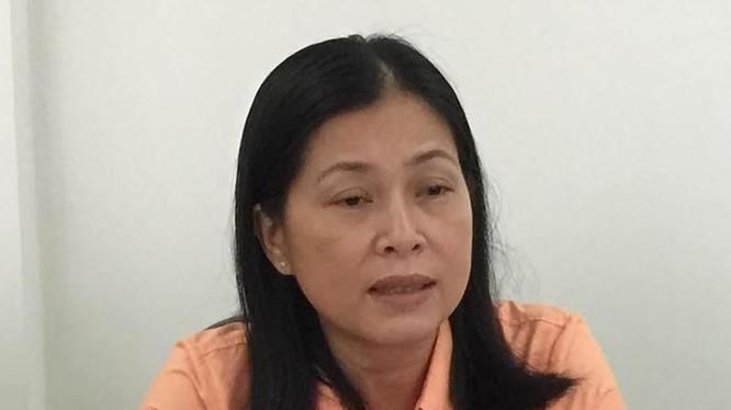 Bà Nguyễn Thị Bé Ba, Phó cục trưởng Cục Thuế Bà Rịa - Vũng Tàu