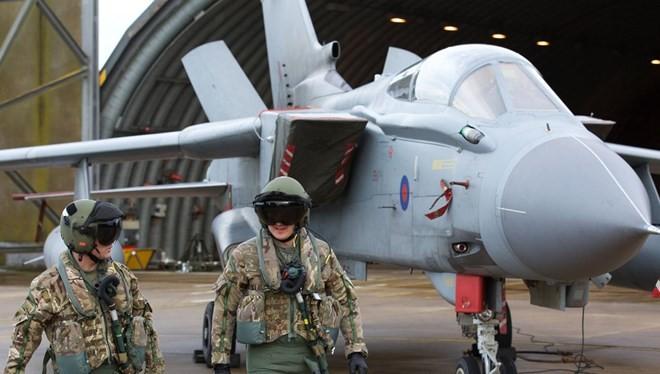 Máy bay Tornado của Anh tham gia chiến dịch không kích IS tại Syria. (Nguồn: Getty Images)