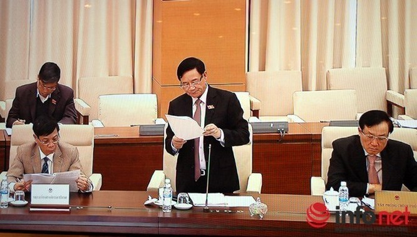 Thường vụ Quốc hội cho ý kiến về dự kiến chương trình kỳ họp thứ 11. (Ảnh: Vạn Xuân)