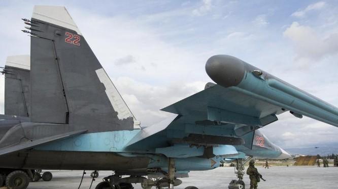 Chiến đấu cơ Nga tạm ngừng hoạt động ở Syria.