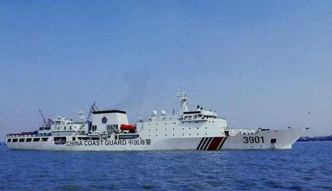 Ảnh minh họa: Một tàu hải cảnh Trung Quốc.