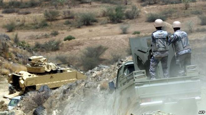 Video phiến quân Huthis tiêu diệt quân bảo vệ biên giới của Arab Saudi