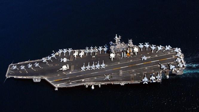 Hàng không mẫu hạm USS John C. Stennis của Hải quân Mỹ. Ảnh: US Navy