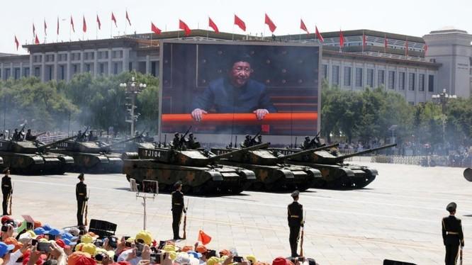 Xe tăng 99A2 của quân đội Trung Quốc. Ảnh: AP