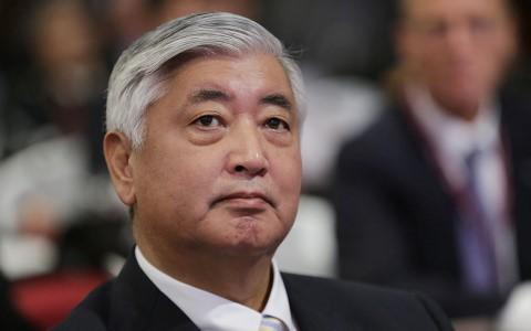 Bộ trưởng Quốc phòng Gen Nakatani. Ảnh AP