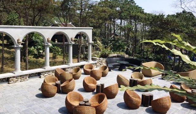 Một góc dự án Le Mont resort xây không phép ở Ba Vì