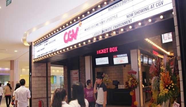 Cụm rạp chiếu phim CGV của tập đoàn CJ đầu tư hiện là cụm rạp Multiplex lớn nhất Việt Nam - Ảnh minh họa: Quốc Hùng