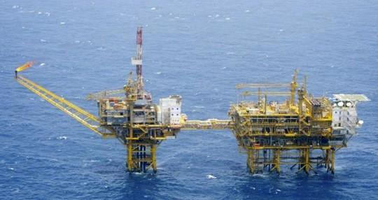 Nhật Bản phản đối hành vi đơn phương khai thác khí đốt của Trung Quốc ở biển Hoa Đông Ảnh: AP