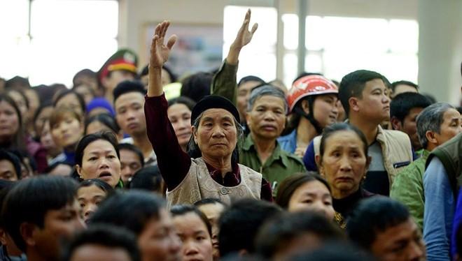 Phó Thủ tướng Nguyễn Xuân Phúc chỉ đạo giải quyết vụ Sầm Sơn