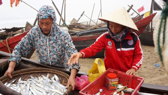 Nhiều người dân Sầm Sơn vẫn chưa nhận được tiền bồi thường, hỗ trợ giải phóng mặt bằng. Ảnh: Nguyễn Dương.