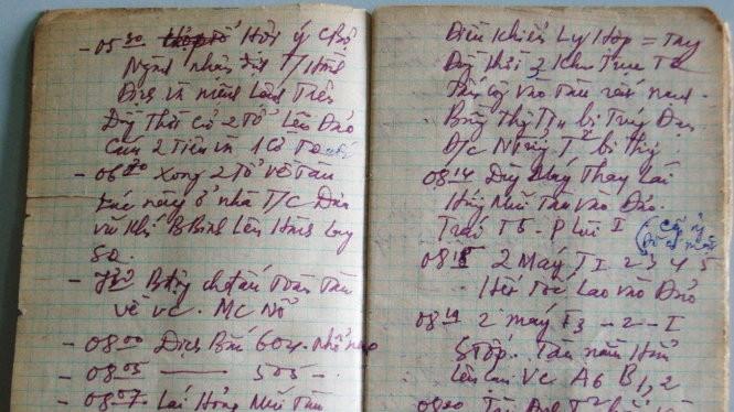 Những dòng nhật ký viết trong khói lửa Trường Sa - Ảnh: My Lăng