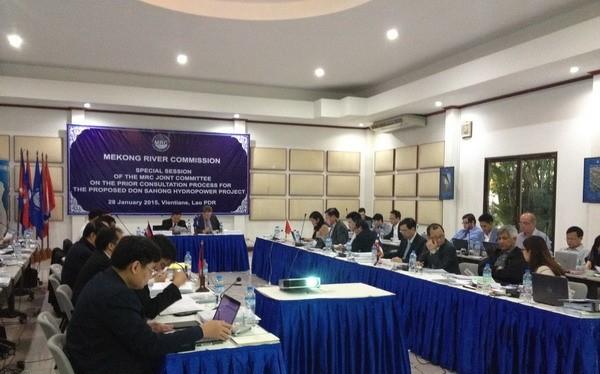 Toàn cảnh Phiên họp lần thứ 43 của Ủy ban Liên hợp Ủy hội sông Mekong quốc tế đã diễn ra tại Cần Thơ