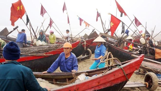 UBND thị xã Sầm Sơn nói sẽ xây dựng 3 bến thuyền cho ngư dân trước đó là thông báo chưa chính thức. Ảnh: Nguyễn Dương.