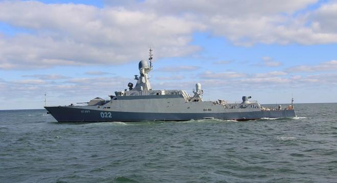 """Video tàu tên lửa """"nhỏ nhưng có võ"""" Buyan-M của Nga"""