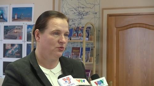 Cố vấn Hội đồng LB (Thượng viện) Nga Irina A. Umnova trả lời phỏng vấn.