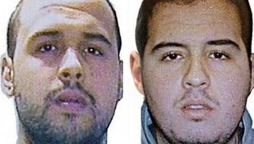 Hai anh em Khalid và Brahim el-Bakraoui. Ảnh: AFP
