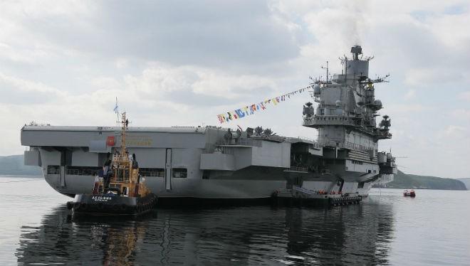 Lịch sử các tàu sân bay của Nga và Liên Xô