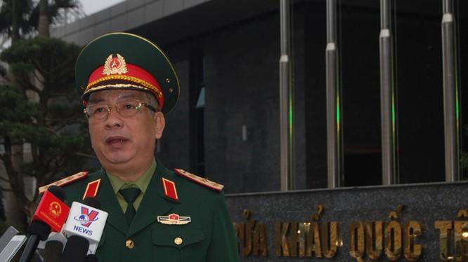 Thượng tướng Nguyễn Chí Vịnh, Thứ trưởng Bộ Quốc phòng. Ảnh: Thái An