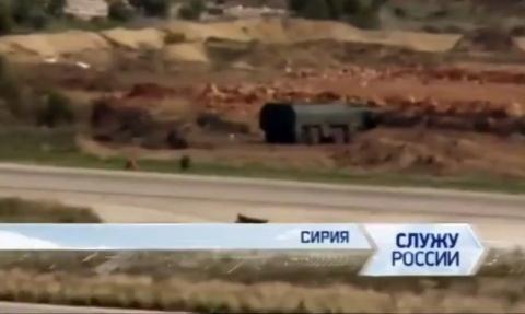 Quân đội Nga đã để rò rỉ hình ảnh hệ thống tên lửa đạn đạo chiến thuật Iskander-M tại Syria