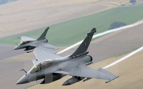 Máy bay chiến đấu Rafale. (Nguồn: AFP/TTXVN)